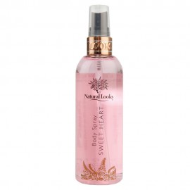 image of NATURAL LOOKS - SWEET HEART BODY SPRAY 250ML