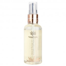 image of NATURAL LOOKS - CLEAN COTTON BODY & MASSAGE OIL 100ML