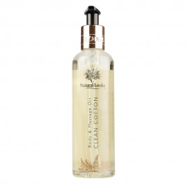 image of NATURAL LOOKS - CLEAN COTTON BODY & MASSAGE OIL 250ML