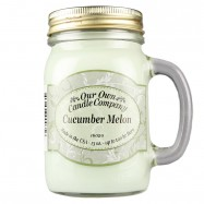 image of NATURAL LOOKS - Cucumber Melon Mason (SCENTED CANDLE)