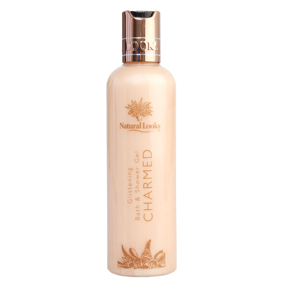 NATURAL LOOKS - CHARMED GLISTENING BATH & SHOWER GEL 250ML