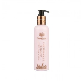 image of NATURAL LOOKS - STRAWBERRY HAND & BODY LOTION 250ML