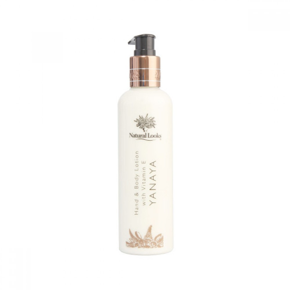 NATURAL LOOKS - YANAYA HAND & BODY LOTION WITH VITAMIN E 250ML