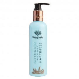 image of NATURAL LOOKS - HAPPINESS HAND & BODY LOTION WITH VITAMIN E 250ML