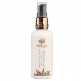 image of NATURAL LOOKS - SWEET HEART HAND & BODY LOTION WITH VITAMIN E 100ML