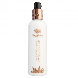 image of NATURAL LOOKS - VANILLA ICE HAND & BODY LOTION 250ML