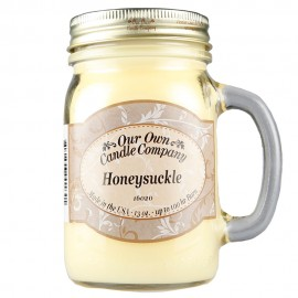 image of NATURAL LOOKS - Honeysuckle Mason (SCENTED CANDLE)