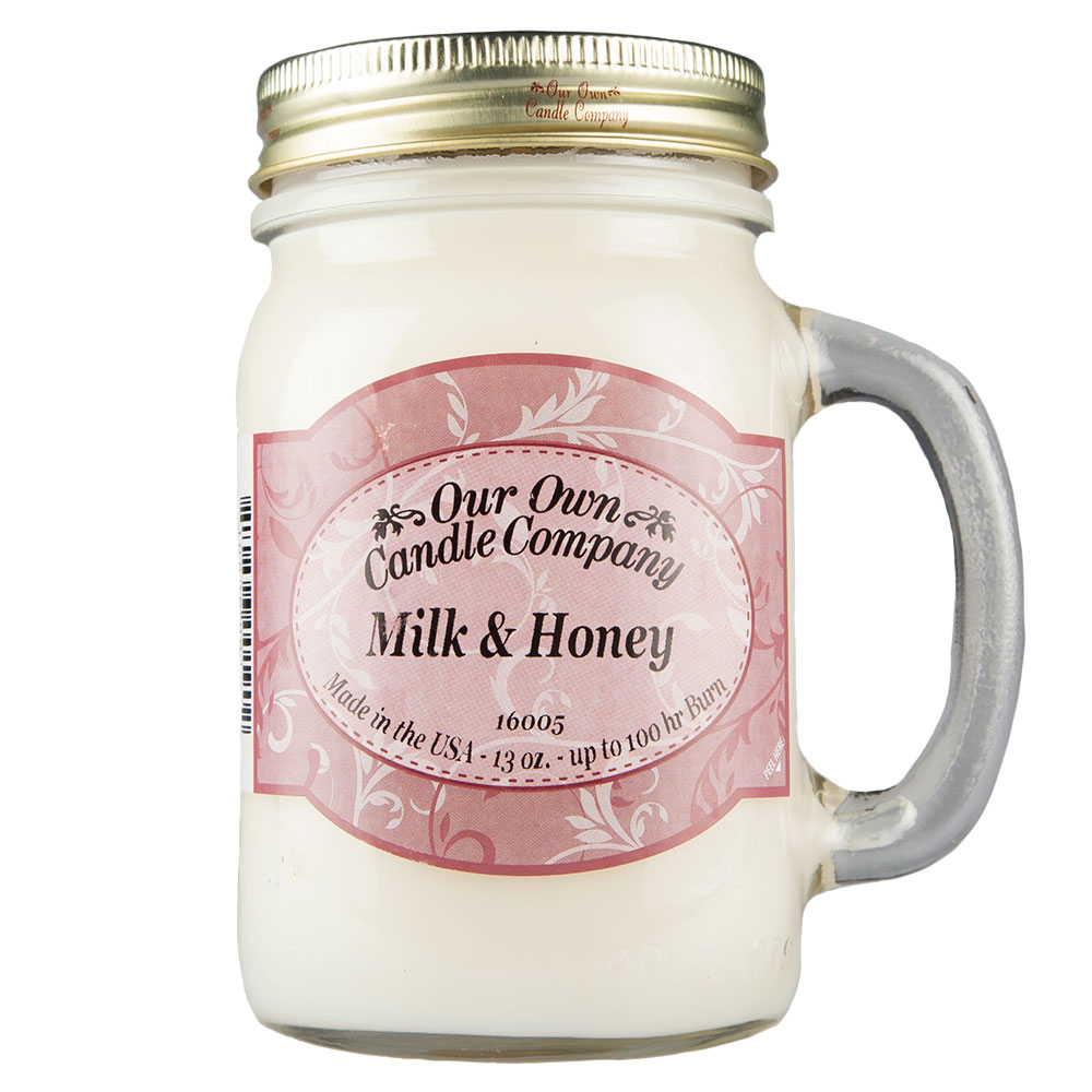 NATURAL LOOKS - Milk & Honey Mason (SCENTED CANDLE)