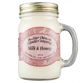 image of NATURAL LOOKS - Milk & Honey Mason (SCENTED CANDLE)