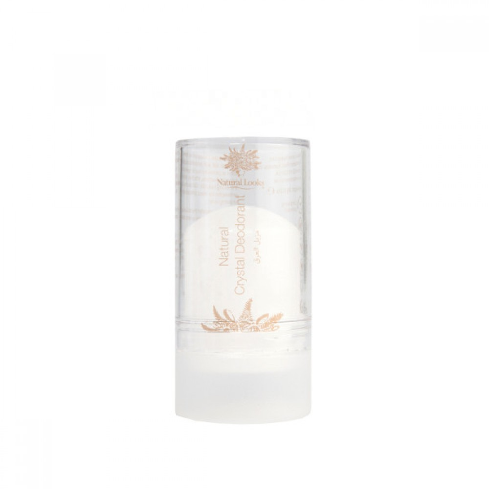 NATURAL LOOKS - CRYSTAL DEODORANT STICK 90GM