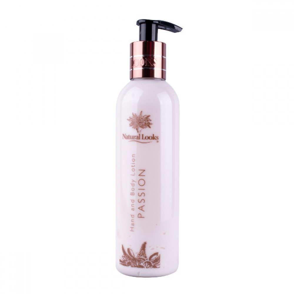 NATURAL LOOKS - PASSION HAND & BODY LOTION 250ML