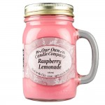 NATURAL LOOKS - Raspberry Lemonade Mason (SCENTED CANDLE)