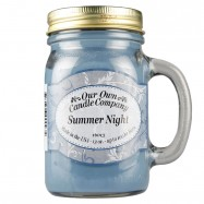 image of NATURAL LOOKS - Summer Night Mason (SCENTED CANDLE)