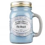 NATURAL LOOKS - The Beach Mason (SCENTED CANDLE)