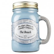 image of NATURAL LOOKS - The Beach Mason (SCENTED CANDLE)