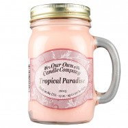 image of NATURAL LOOKS - Tropical Paradise Mason (SCENTED CANDLE)