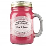 NATURAL LOOKS - Wine & Roses Mason (SCENTED CANDLE)