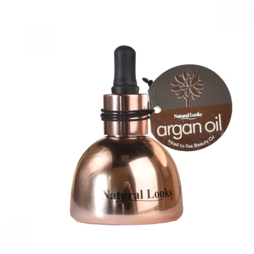 NATURAL LOOKS - Argan Oil Head-to-Toe Beauty Oil 50ml