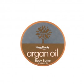 image of NATURAL LOOKS - Argan Oil Body Butter 60ml
