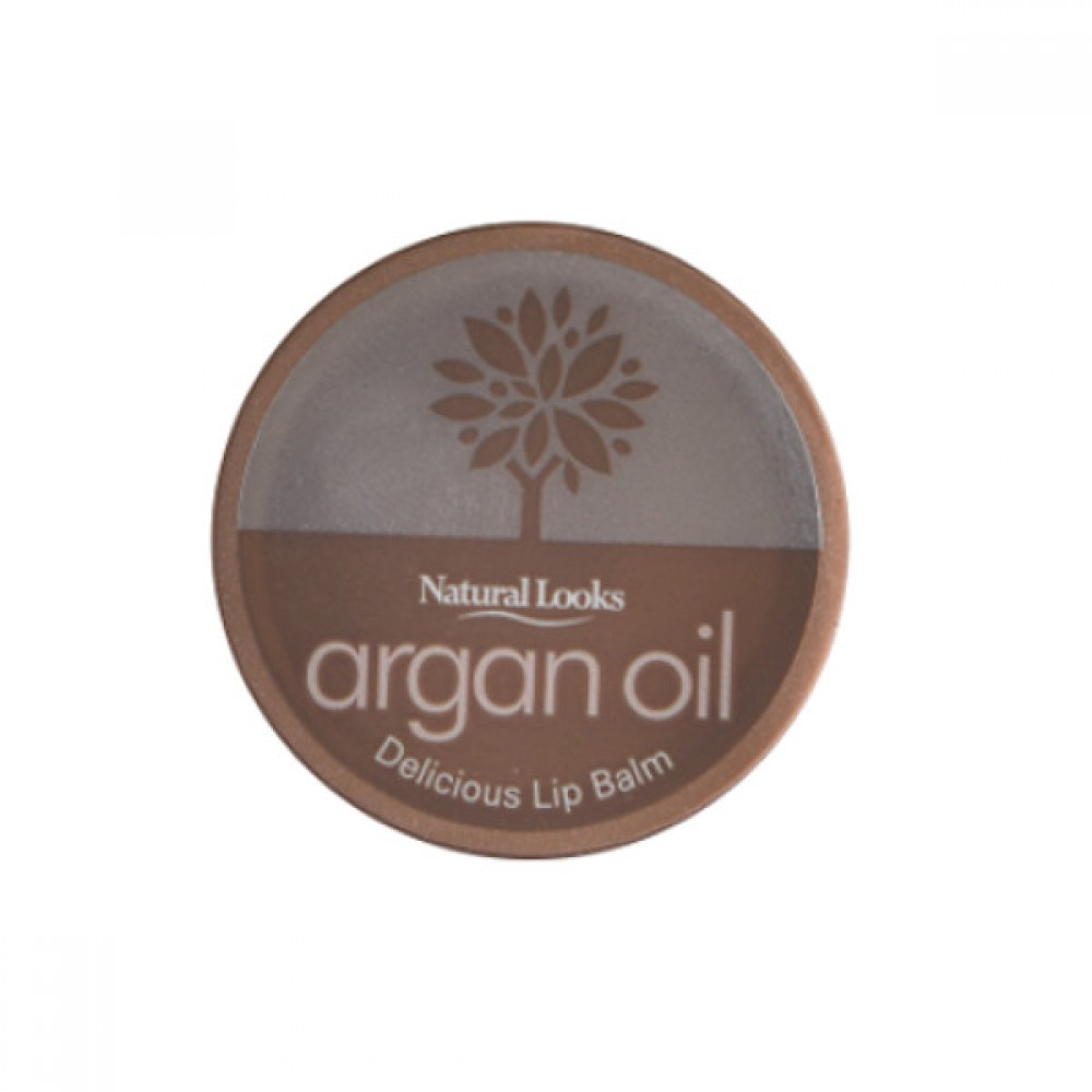 NATURAL LOOKS - Argan Oil Delicious Lip Balm 10ml