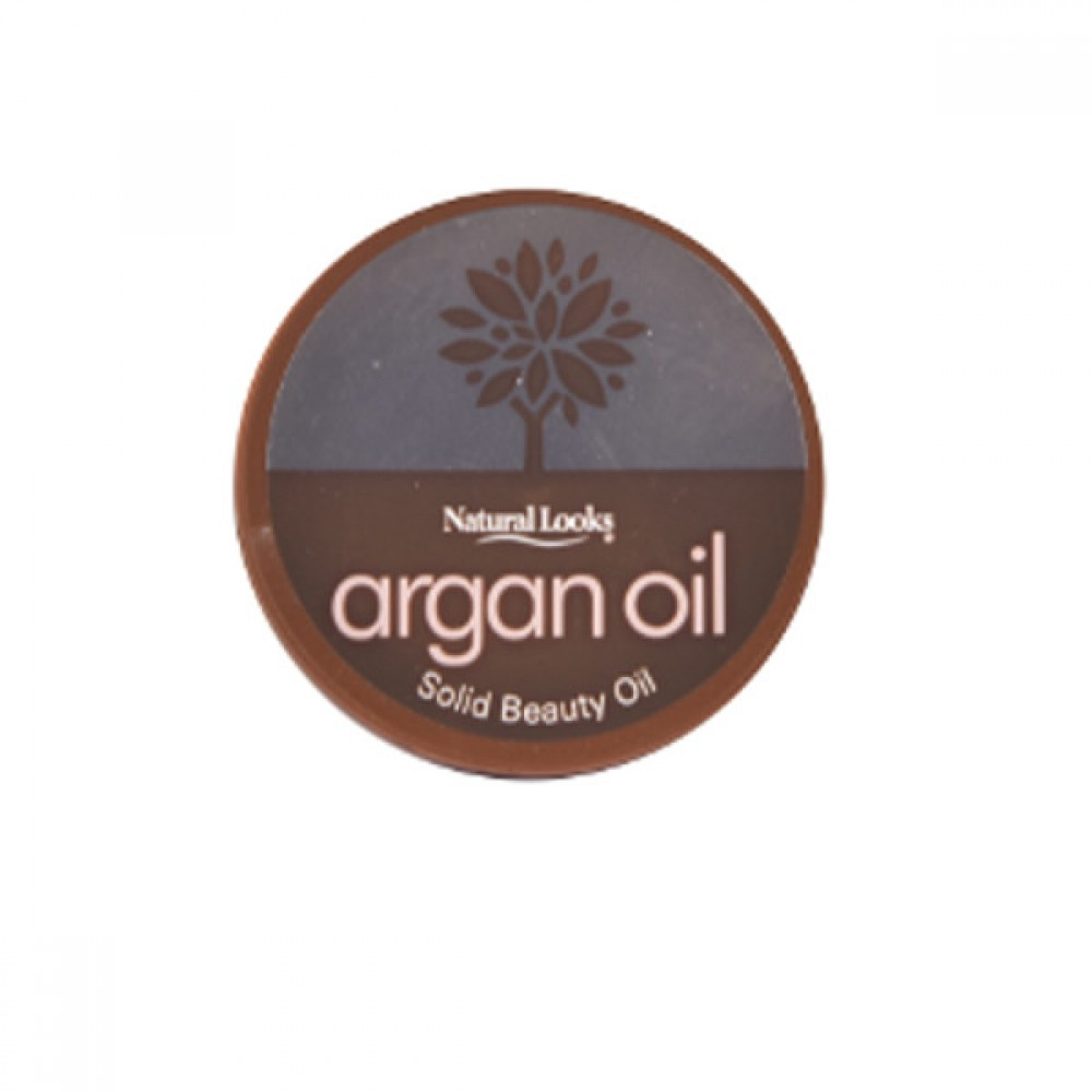 NATURAL LOOKS - Argan Oil Solid Beauty Oil 50ml
