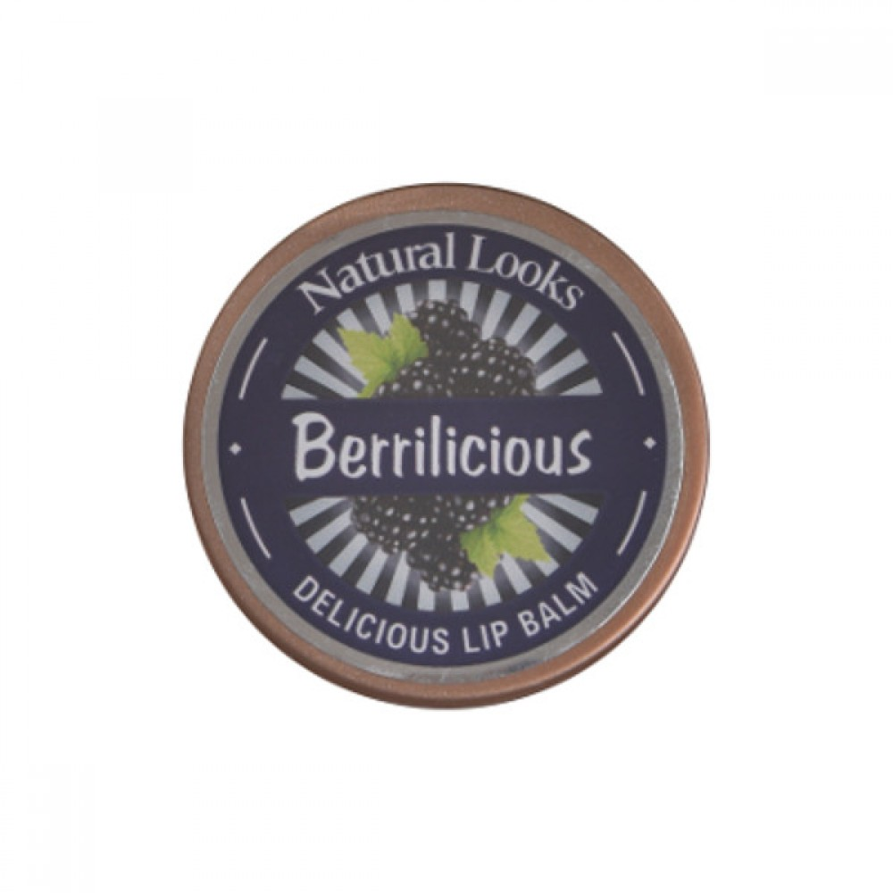NATURAL LOOKS - BERRILICIOUS DELICIOUS LIP BALM