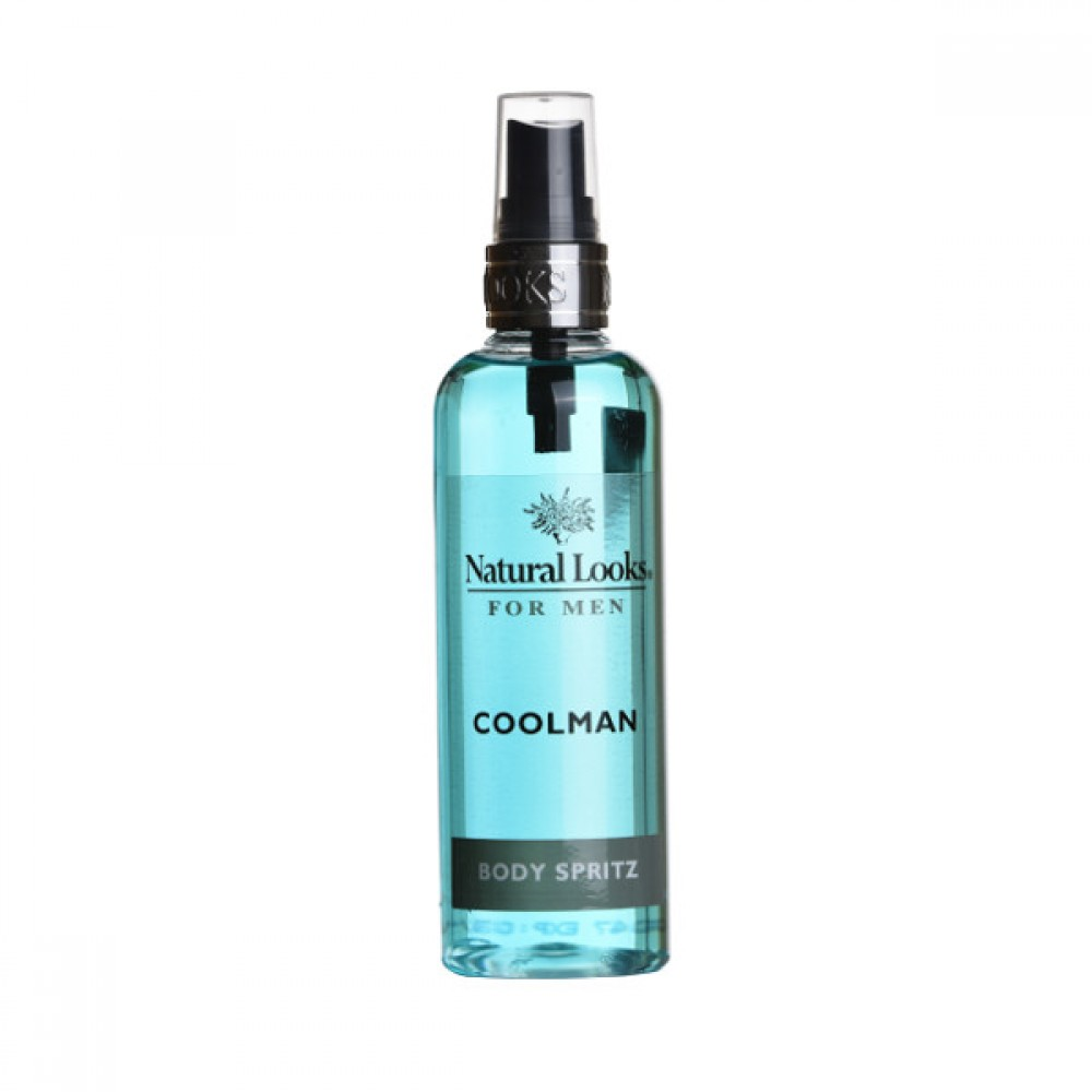 NATURAL LOOKS -  Coolman Body Spritz 150ml