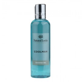 image of NATURAL LOOKS -  COOLMAN SHOWER GEL 250ML