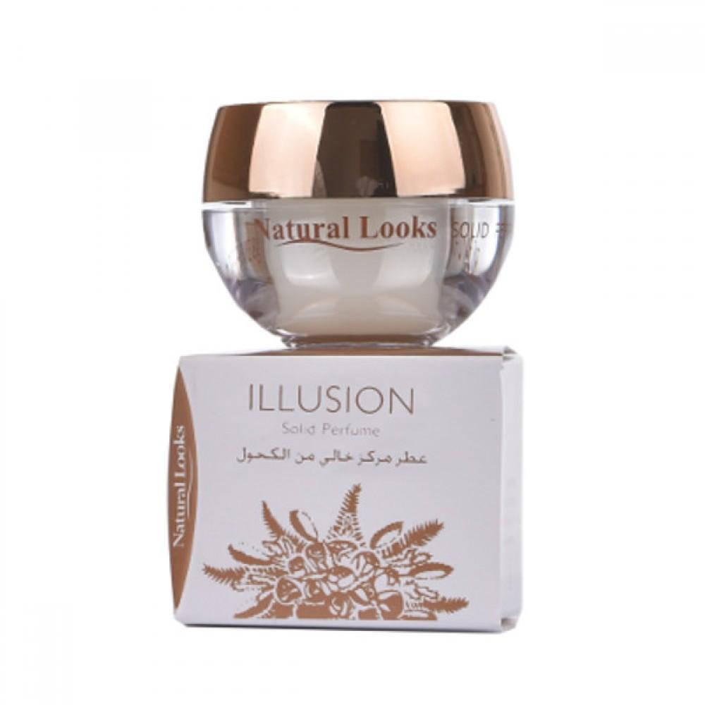 NATURAL LOOKS - ILLUSION SOLID PERFUME 8G