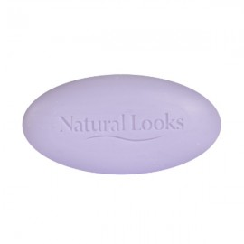 image of NATURAL LOOKS - PURE VEGETABLE MILLED SOAP LAVENDER 150G