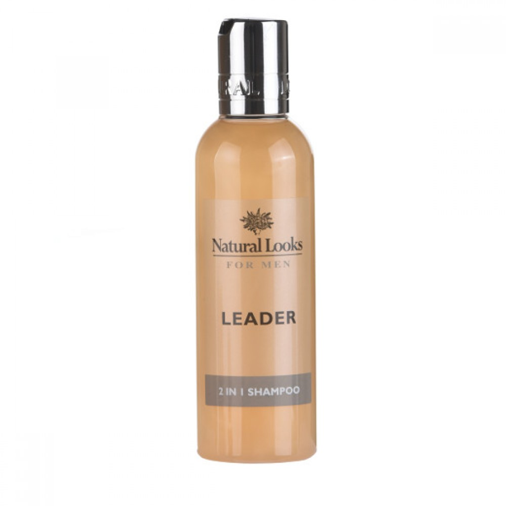 NATURAL LOOKS - LEADER 2 IN 1 SHAMPOO 200ML