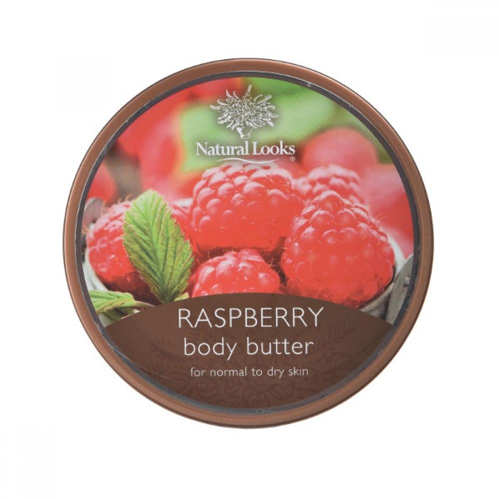 NATURAL LOOKS - Raspberry Body Butter 220ml
