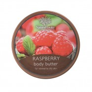 image of NATURAL LOOKS - Raspberry Body Butter 220ml