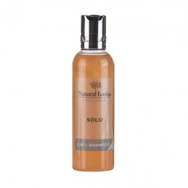 image of NATURAL LOOKS - SOLO 2 IN 1 SHAMPOO 200ML