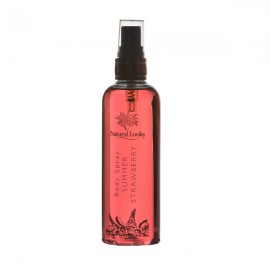 image of NATURAL LOOKS - STRAWBERRY BODY SPRAY 150ML