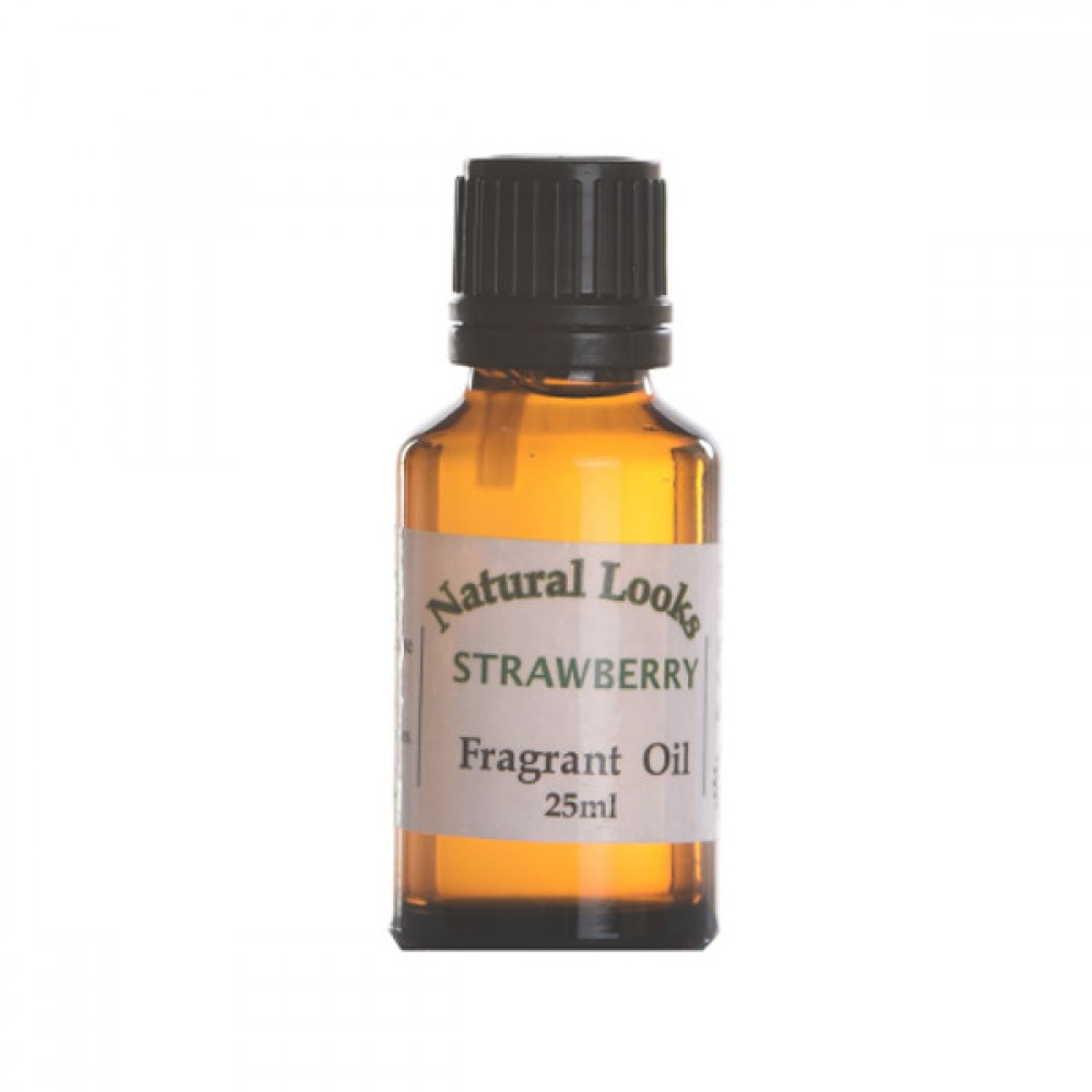 NATURAL LOOKS - SUMMER STRAWBERRY HOME FRAGRANCE 25ML