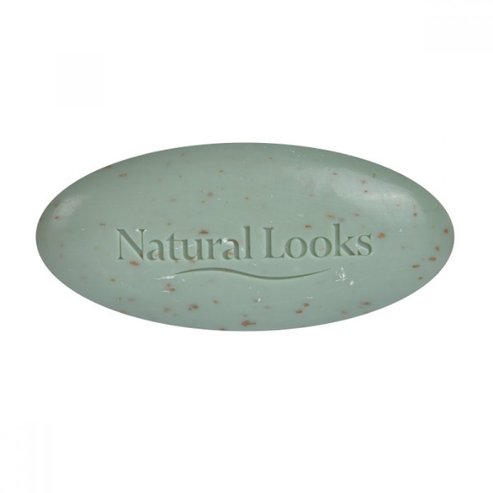 NATURAL LOOKS - PURE VEGETABLE MILLED SOAP TEA-TREE SCRUB 150G