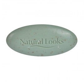 image of NATURAL LOOKS - PURE VEGETABLE MILLED SOAP TEA-TREE SCRUB 150G