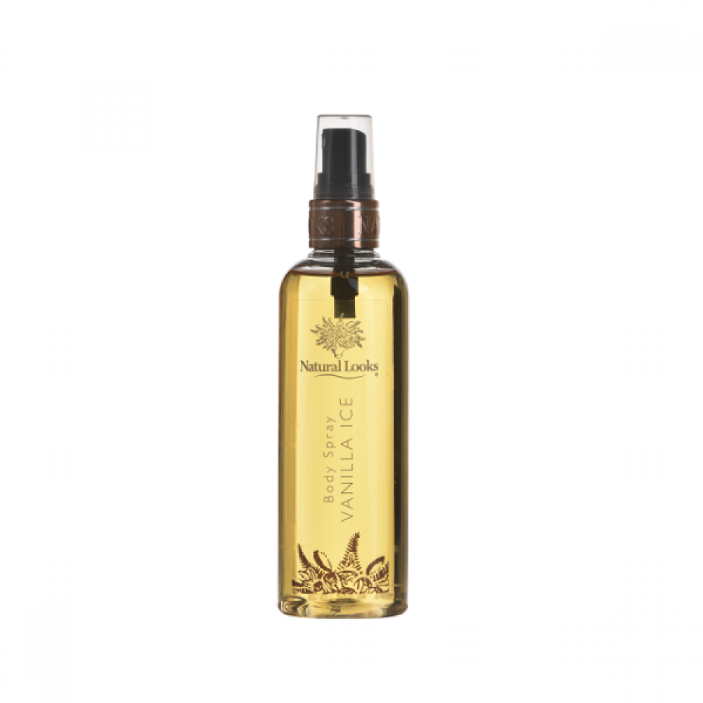 NATURAL LOOKS - VANILLA ICE BODY SPRAY 150ML