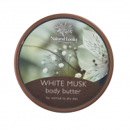 image of NATURAL LOOKS - White Musk Body Butter 220ml