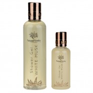 image of NATURAL LOOKS - WHITE MUSK SHOWER GEL 100ML