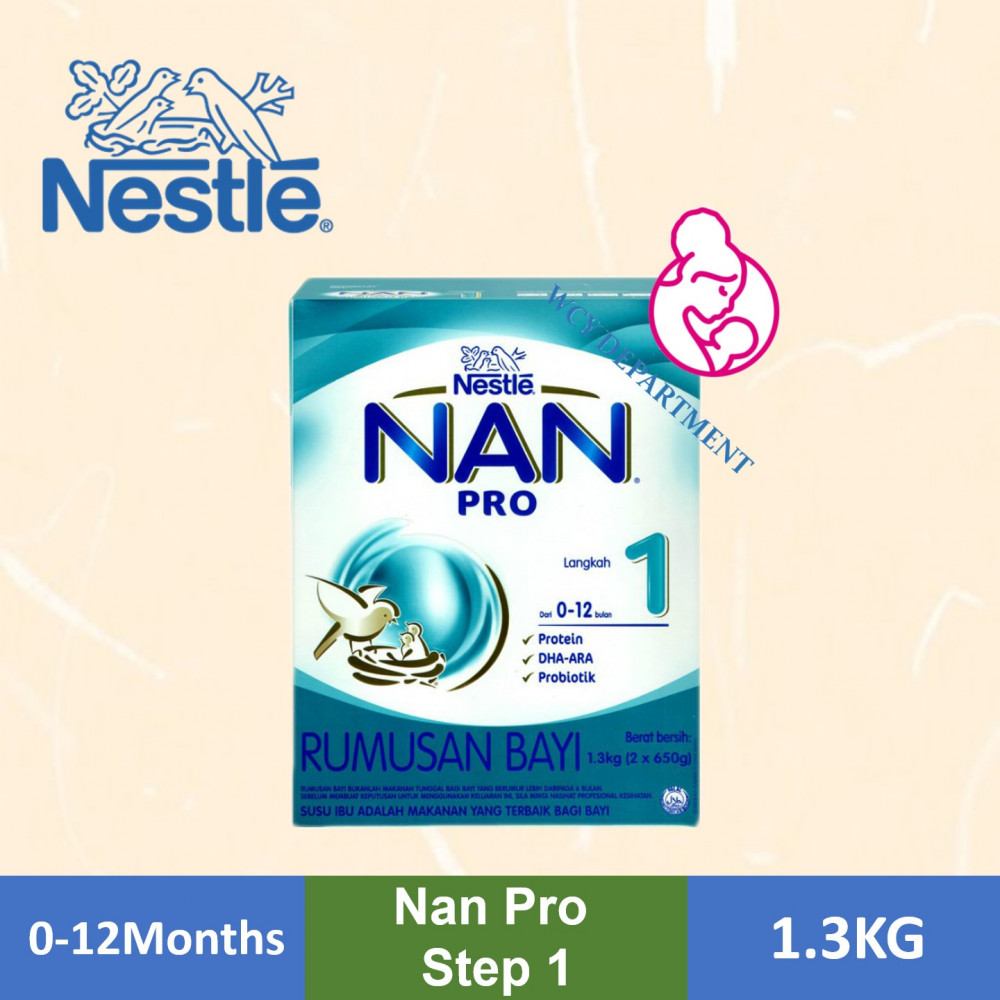 Nestle Nan Pro Stage 1 [1.3Kg]