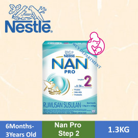 image of Nestle Nan Pro Stage 2 (1.3kg)Old Packing [Exp08/19]