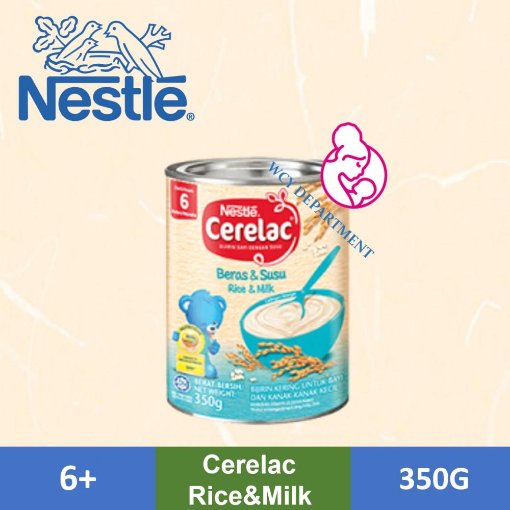 CERELAC Rice + Milk 350gram 6 Months +