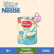 image of CERELAC Rice + Milk 350gram 6 Months +