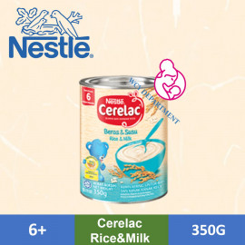 image of CERELAC Rice + Milk 350gram 6 Months +