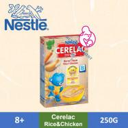 image of Nestle Cerelac Rice Chicken (250g)