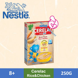 image of Nestle Cerelac Rice Chicken (250g)