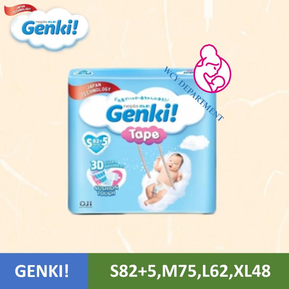 Genki! Tape Mega [S82+5,M75,L62,XL48]