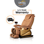 GINTELL G-Pro Gold Massage Chair -Showroom Unit (Ivory/Gold)